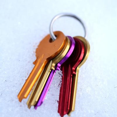 Anodizado de proteccion en llaves
