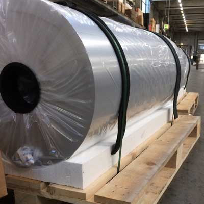 Anodizado duro rollo industrial aluminio